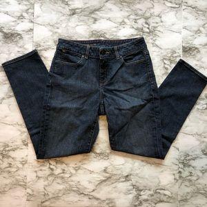Talbots - Dark Wash Curvy Slim Ankle Jeans - 6P